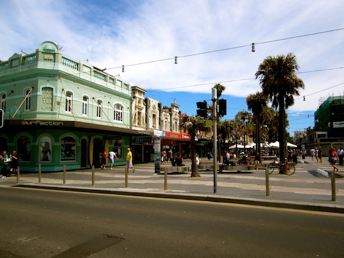 The quaint buildings of Manly, Sydney, Australia