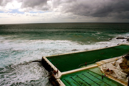 Ocean pools at Bondi Beach in Sydney, Australia