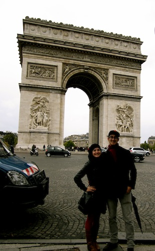 Christine Amorose & Rex Flores in Paris, France