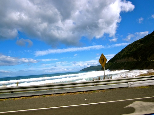 Great Ocean Road, Victoria, Australia on a sunny day