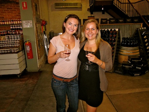 Christine Amorose & Renee Eggers at Yering Station, Yarra Valley, Australia