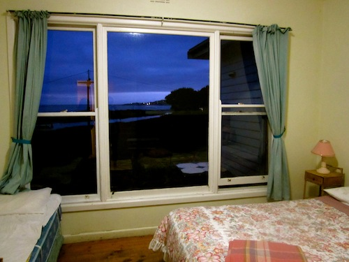 View from Surfside Backpackers, Apollo Bay, Victoria, Australia