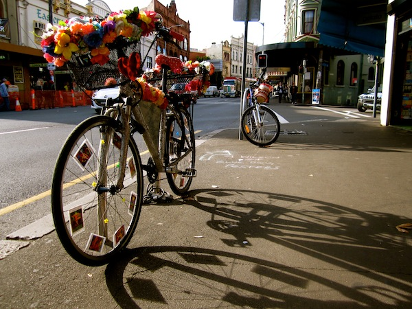 Bicycle in Newtown, Sydney, Australia
