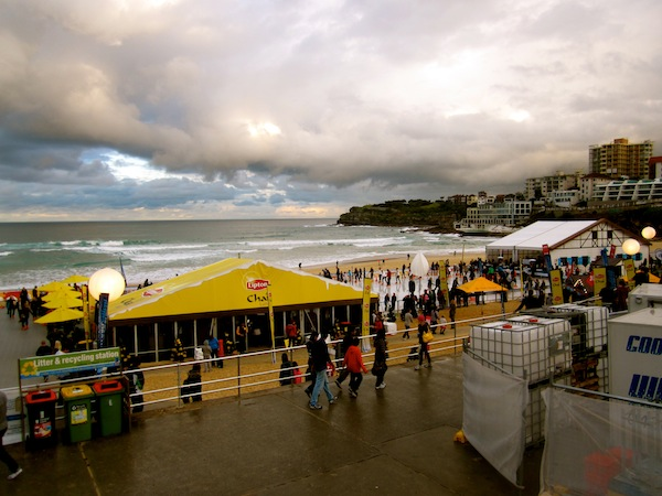 Ice skating rink at Bondi Beach, Sydney, Australia