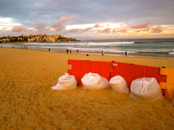 Sunset at Bondi Beach in Sydney, Australia