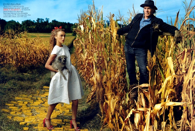 Annie Leibowitz, Vogue photo shoot, The Wizard of Oz