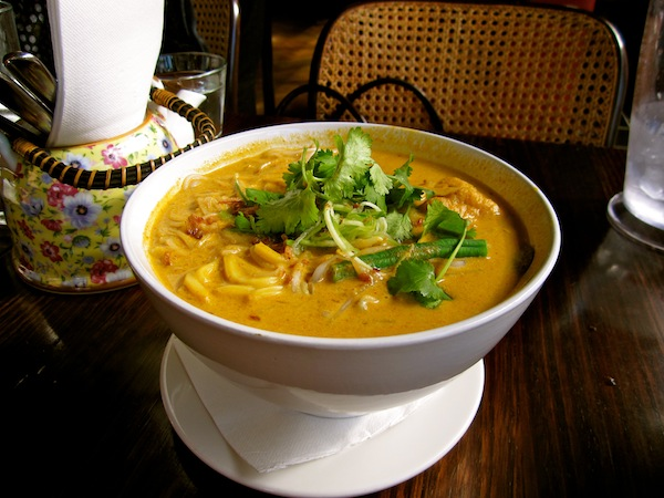 Seafood Laksa at Pan Asian, Prahran, Melbourne, Australia