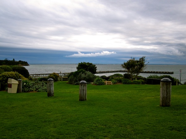 View from Portsea Hotel in Victoria, Australia