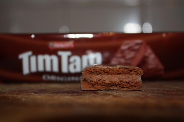 Arnott's Tim Tam malted chocolate cookie biscuit