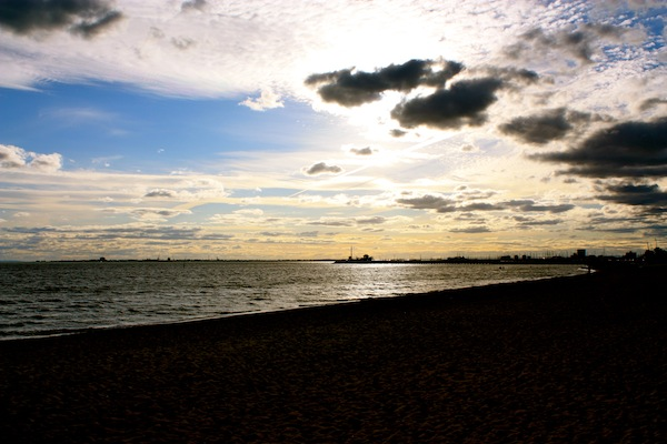 St Kilda Beach Sunset, Melbourne, Australia
