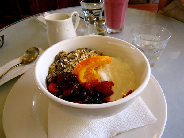 Muesli at Caffe Mode, Kelburn, Wellington, New Zealand