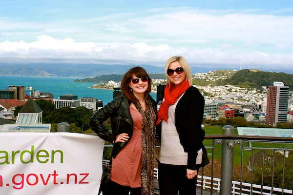 Christine Amorose & Amber Bartholomew in Wellington, New Zealand
