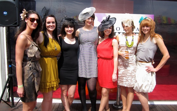 Young Members at Caulfield Guineas Day, Melbourne Spring Racing Carnival 2011