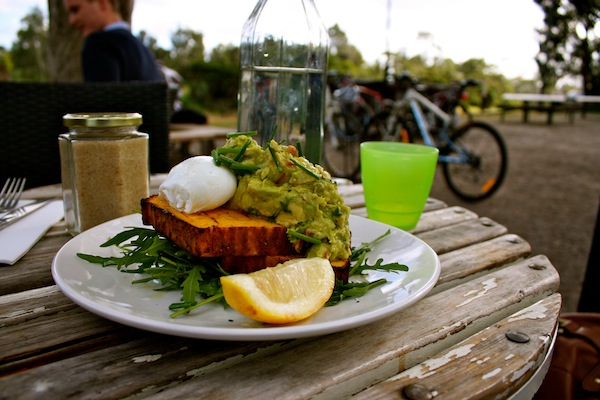 Breakfast at Kanteen, South Yarra, Melbourne, Australia