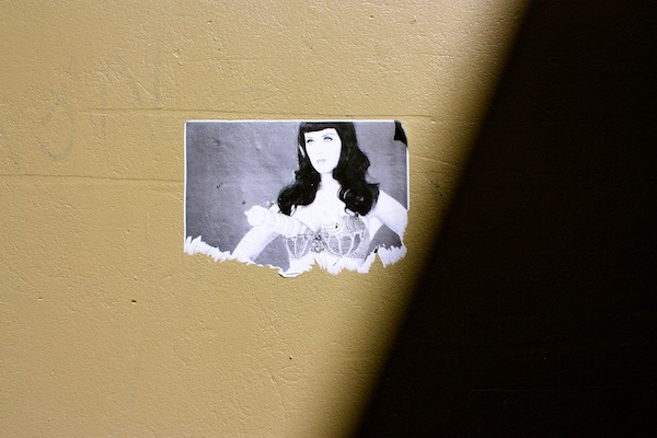 Katy Perry Street art in Fitzroy, Melbourne, Australia