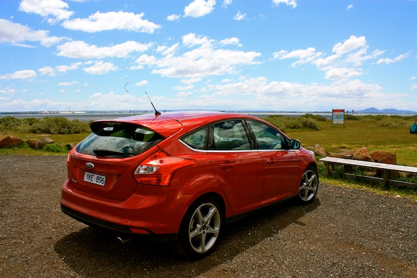New redFord Focus on the Bellarine Peninsula, Australia