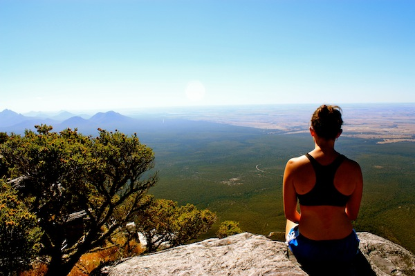 View from Bluff Knoll, Western Australia