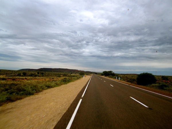 View from the Eyre Highway, South Australia