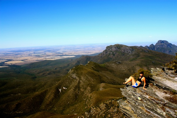 Christine Amorose on Bluff Knoll, Stirling Ranges, Western Australia