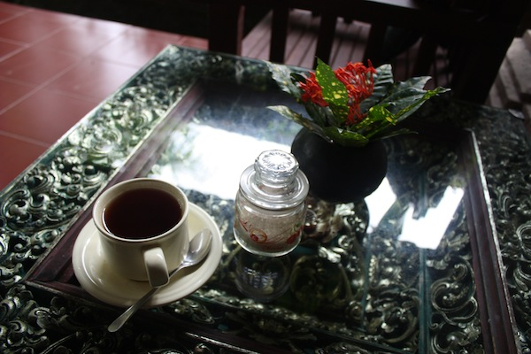 Tea at Dewangga Bungalows, Ubud, Bali, Indonesia