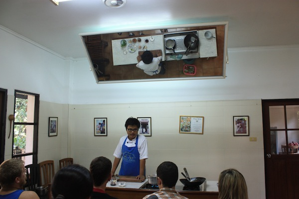 Chiang Mai Thai Cookery School classroom