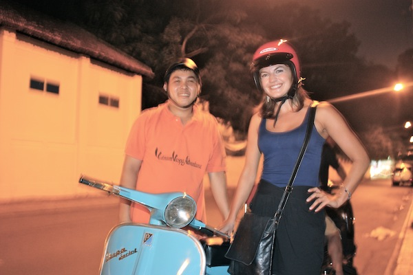 Saigon After Dark: seeing HCMC nightlife on the back of a Vespa - C'est Christine