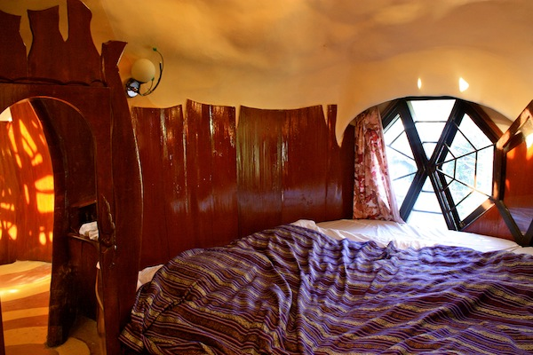 Bedroom with custom mattress in Crazy House, Dalat ,Vietnam