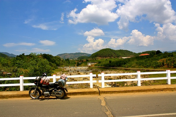 Motorcycle trip through the Central Highlands, Vietnam