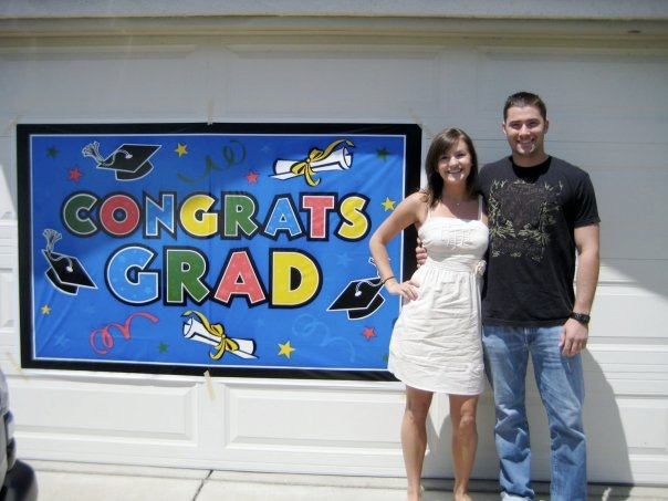 Graduation party at home 2009
