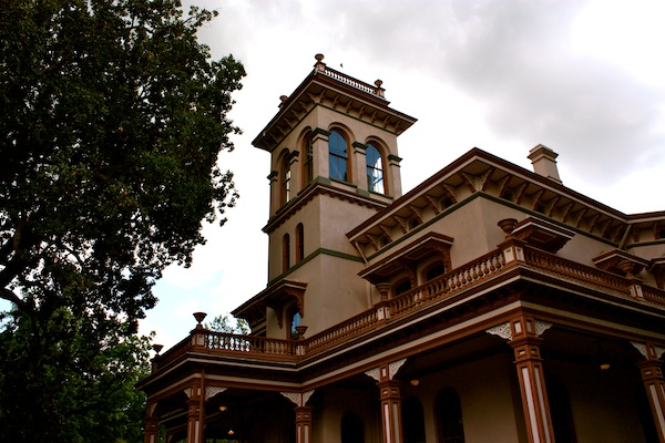 Bidwell Mansion on California State University, Chico campus