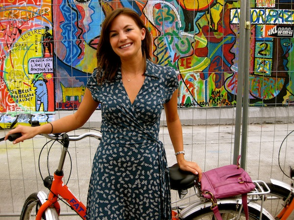 Christine Amorose on Fat Tire Bike Tours in Berlin, Germany