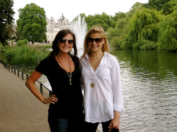 Christine Amorose & Maria Knudsen in London, England
