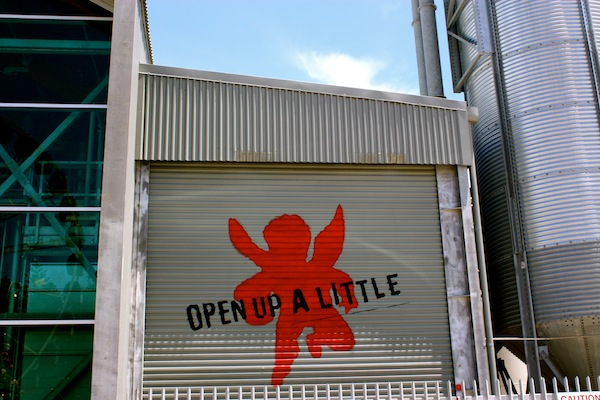 Open up a little at Little Creatures Brewery, Fremantle, Australia