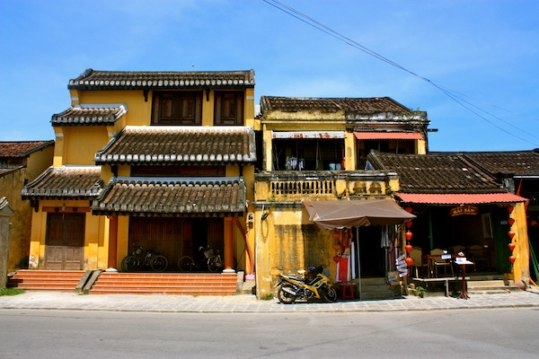Houses And French Influenced Architecture Of Hoi An