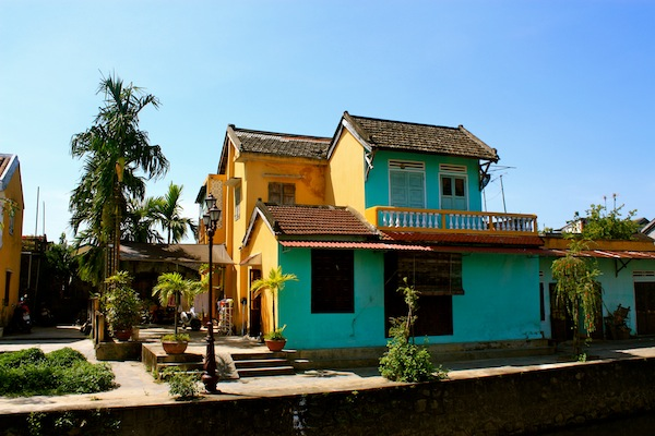 Houses And French Influenced Architecture Of Hoi An Vietnam C Est Christine