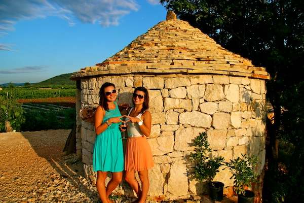 Wine tasting in Stari Grad on Hvar Island with Busabout Croatia Sailing