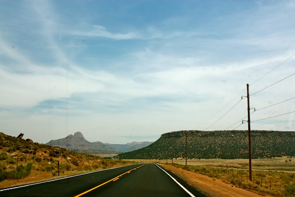 Sunny day in Arizona on the ultimate USA road trip