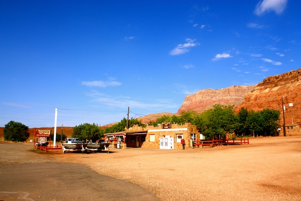 Cliff Dwellers Lodge near Lees Ferry, Arizona, USA