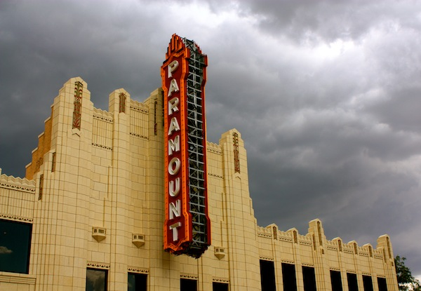 The Paramount Theatre in Amarillo, Texas, USA