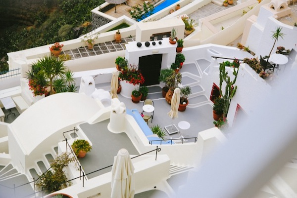 Santorini, Greece by Ashlee Gadd