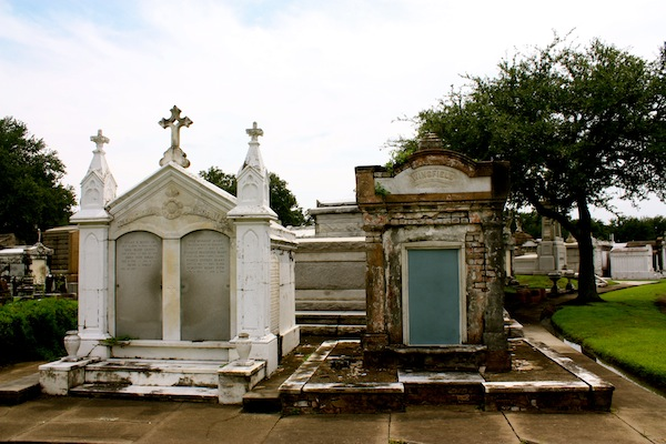 Tomb at a cemetery in New Orleans, Louisiana
