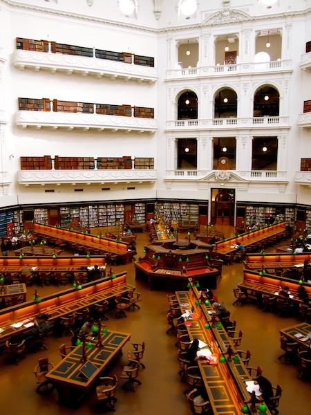 """Winter day in the State Library of Victoria for """"Capture the Season"""""""