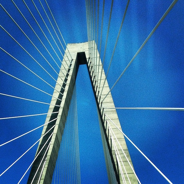 Arthur Ravenel Jr Bridge in Charleston, South Carolina