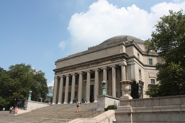 Columbia University in Morningside Heights, New York City, USA