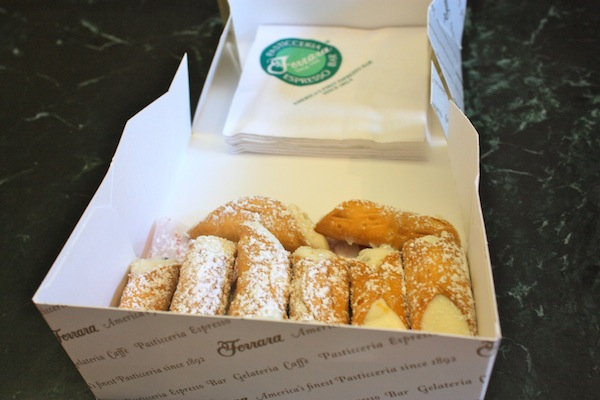 Cannoli in Little Italy with Ahoy New York Tours and Tasting