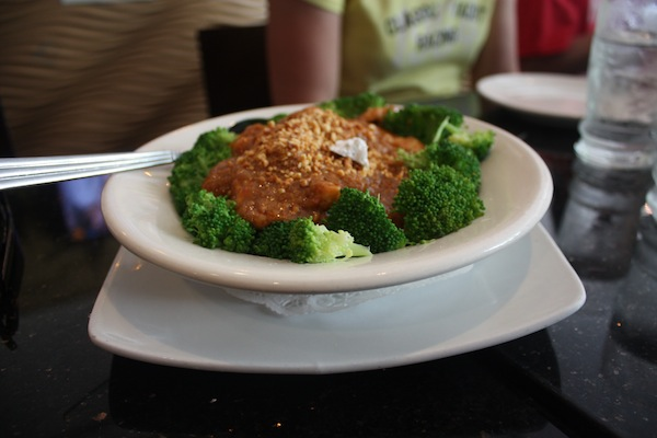 Thai peanut sauce in Chinatown with Ahoy New York Tours and Tasting