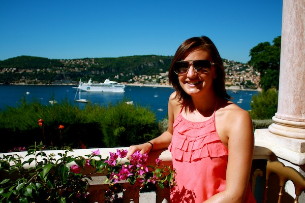 Christine Amorose at Villa Ephrussi de Rothschild, Nice, France