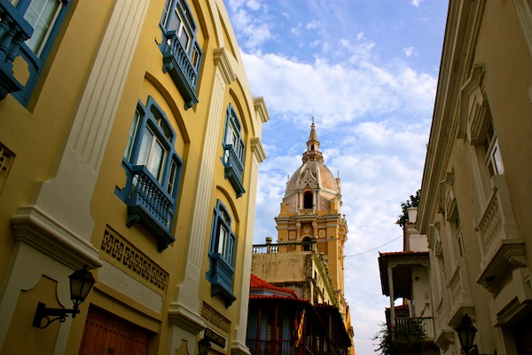 Churches and architecture in Cartagena, Colombia, South America