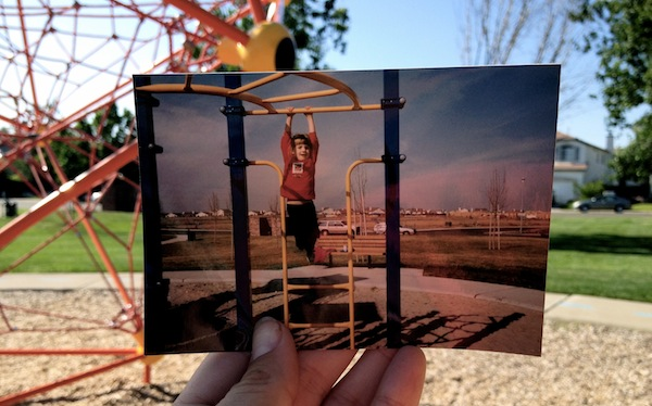"""Dear Photograph"" Christine Amorose in Elk Grove, California"