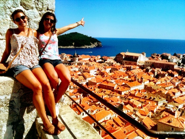 Red roofs of Dubrovnik, Croatia